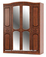 Шкаф 4Д Милано (Мебель-Сервис)  1700х600х2265мм