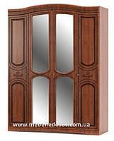 Милано шкаф 4Д (Мебель-Сервис)  1700х600х2265мм