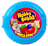 Жевательная резинка Hubba Bubba Mega Long Арбуз/клубника/черника