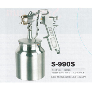 Краскопульт пневматический S-990S (2.0)