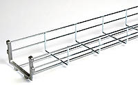 Лоток проволочный 30х400 (кабельные лотки, профиль монтажный) ДКС