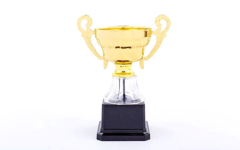 Кубок спортивный с ручками 17 см
