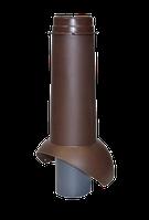 ФАНОВАЯ труба 110 мм  УТЕПЛЕННАЯ, фото 1