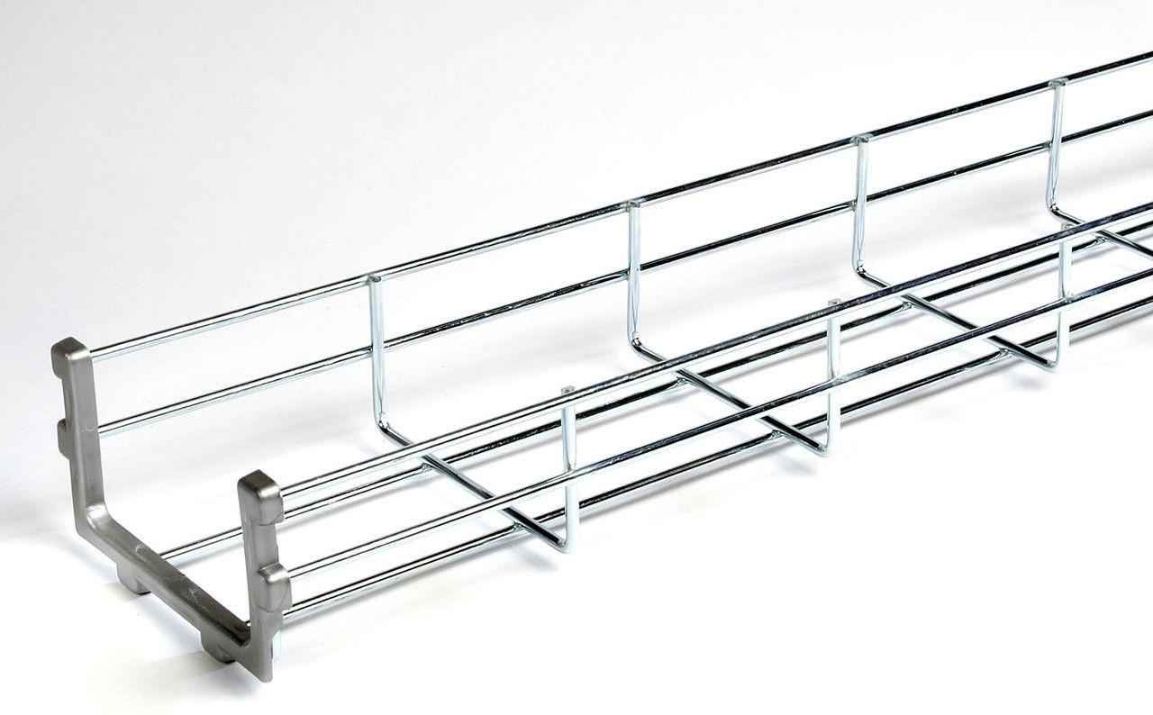 Лоток проволочный 30х600 (кабельные лотки, профиль монтажный) ДКС