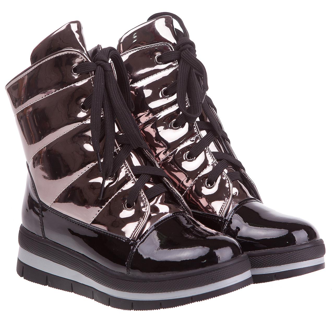 94c1aeaa Купить Ботинки женские Prima D'arte (модные, на шнурках, удобные ...