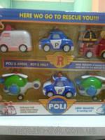 """Набор машинок """" ROBOCAR POLI"""" P4"""
