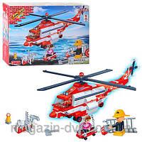 Конструктор BANBAO  8315 пожарный вертолет