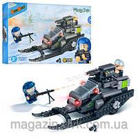 Конструктор BANBAO  6212 для мальчиков военный снегоход