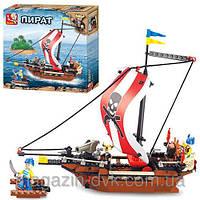 Конструктор пиратский корабль  SLUBAN M38-B0279
