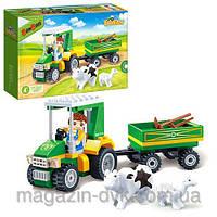 Конструктор  ферма BANBAO  8586 трактор