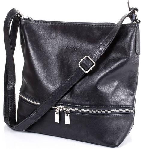 Повседневная женская кожаная сумка ETERNO (ЭТЕРНО) ETK02-06-2 Черная