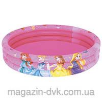 Бассейн детский надувной  Принцессы 91047