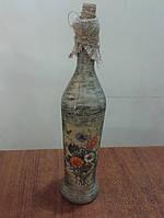 ,Бутылка сувенирная (техника декупаж), фото 1