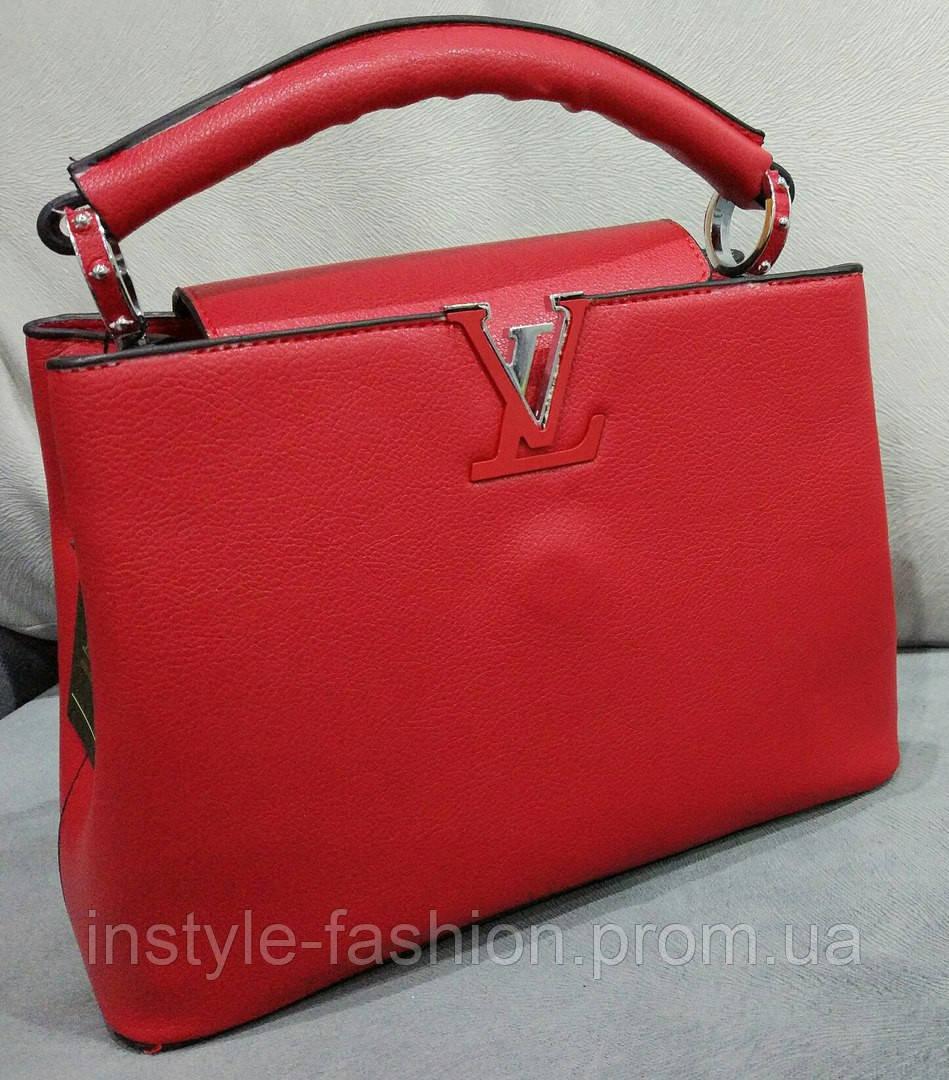 Сумка Louis Vuitton мини цвет красный