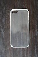 Силиконовый чехол для iPhone 5/5S Прозрачный