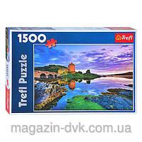 Пазлы  1500 дет Замок  26100