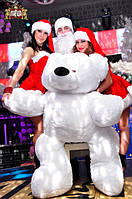 большой мишка - сюрприз на Новый год