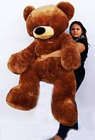 огромный мягкий медведь Бублик коричневого цвета от производителя Алина