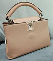 Сумка Louis Vuitton Луи Виттон мини цвет бежевый, фото 1