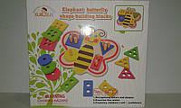Деревянная игрушка геометрика MD 0964