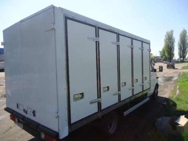 Переделка вашего автофургона в хлебный фургон