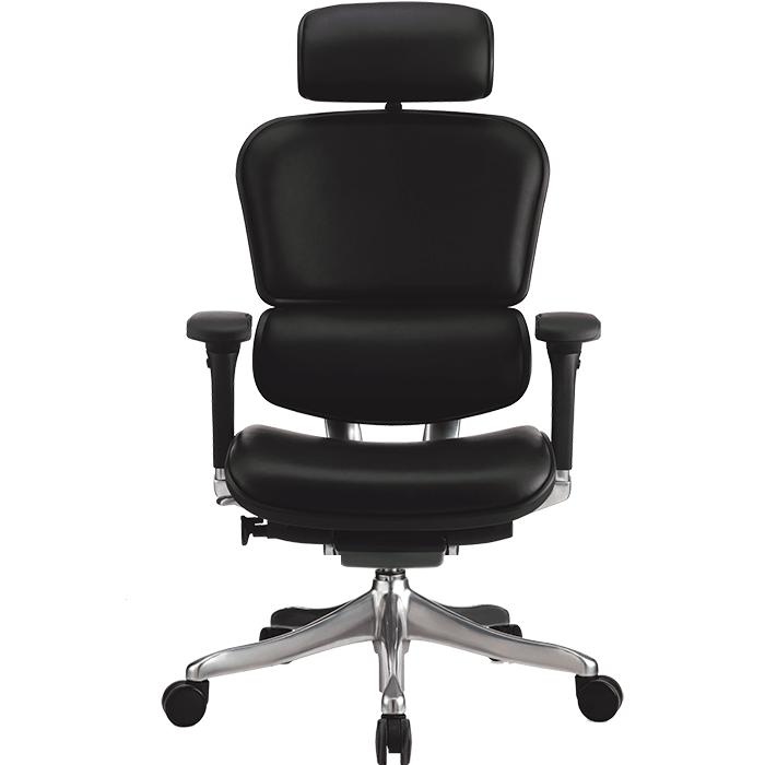Шкіряне комп'ютерне крісло Ergohuman Plus