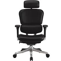 Шкіряне комп'ютерне крісло Ergohuman Plus, фото 1