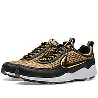 Оригинальные  кроссовки Nike Air Zoom Spiridon Metallic Gold & Black