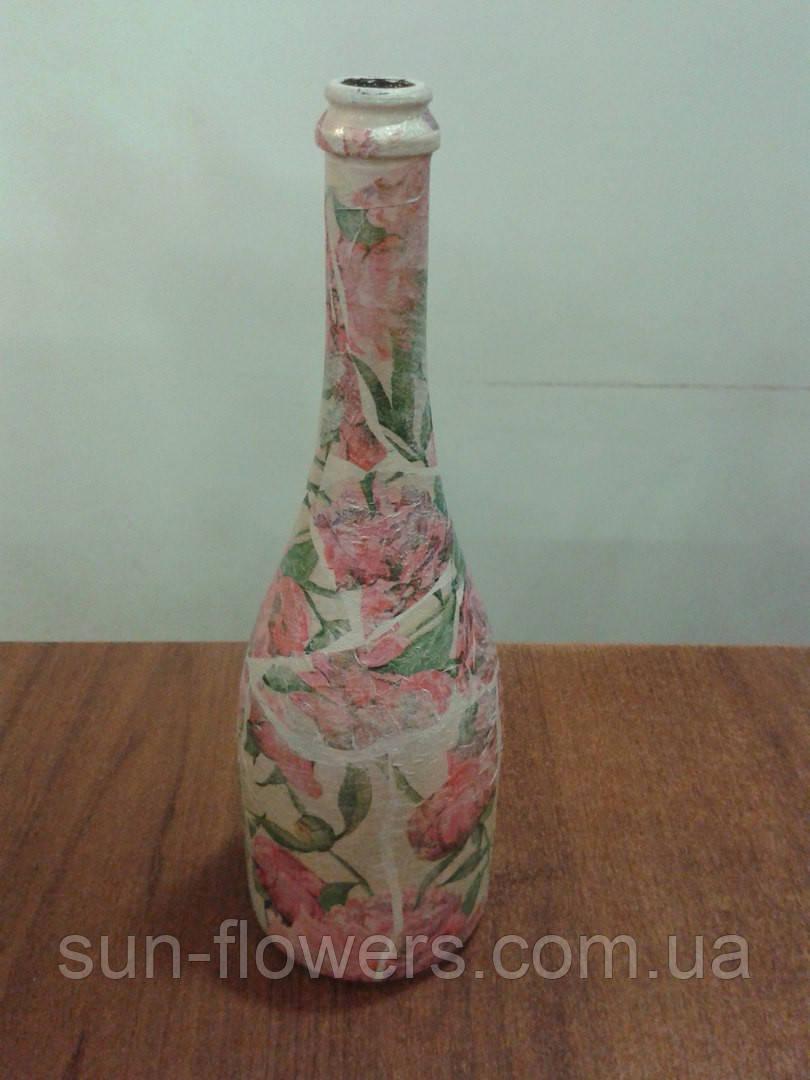 Бутылка сувенирная(декупаж)