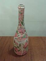 Бутылка сувенирная(декупаж), фото 1