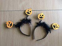 """Обруч """"тыковки"""" для костюма на Хеллоуин , фото 1"""