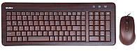 Клавиатура с мышкой SVEN Wooden Elite Combo USB