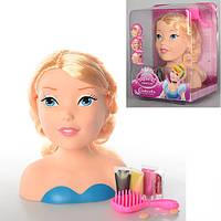 Кукла  ZT8886 голова для макияжа и прчесок