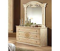 Рома комод с зеркалом (Мебель-Сервис)  1130х430х855мм