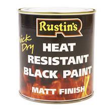 Термостійка чорна фарба Heat Resistant Paint 220°C