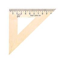 Линейка деревянная треугольная С138 (11 см.) МОЖГА