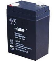 Аккумулятор Свинцово-кислотный Батарея CASIL CA645 4.5Ah, 6V