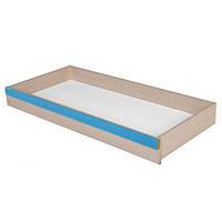 Ящик кровати LOZ/85D Капс Голубой