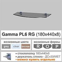 Полка стеклянная Commus PL6RG