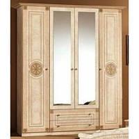 Рома шкаф 4Д (Мебель-Сервис)  1780х520х2240мм