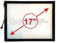 """Сенсорное стекло LED «i-Touch» 3мм 17"""" упрощенная рамка"""
