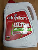 Антифриз AKVILON (Аквилон) ultra G12 (-40) красного цвета 5л. - производства Украины