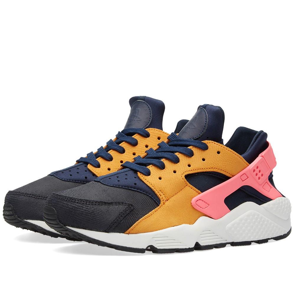 e3f345b5230a Оригинальные кроссовки Nike W Air Huarache Run Premium Obsidian, Sunset