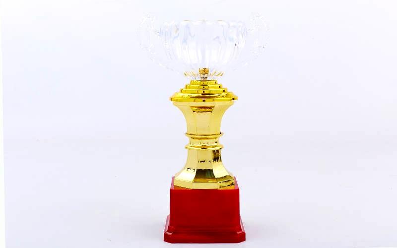 Кубок спортивный с ручками 23 см