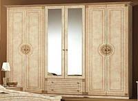Рома шкаф 6Д(Мебель-Сервис)  2670х520х2240мм