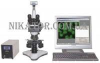 Бинокулярный биологический микроскоп MCX100 CROCUS с интегрированной видеокамерой, фото 1