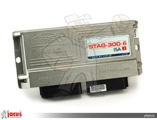 Электронный блок управления ГБО AC STAG 300 6 ISA2