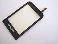 Сенсорный экран Samsung C3300/C3303 (Champ) (черный)
