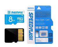 Карта памяти Remax Micro SDHC 8GB Class 6