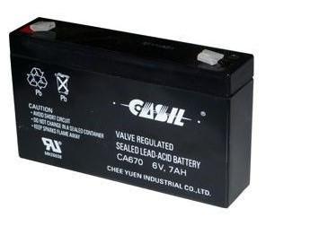 Аккумулятор Свинцово-кислотный Батарея CASIL CA1222 2.2Ah, 12V